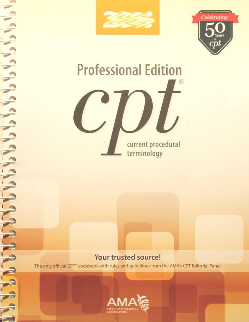 CPT Code Book